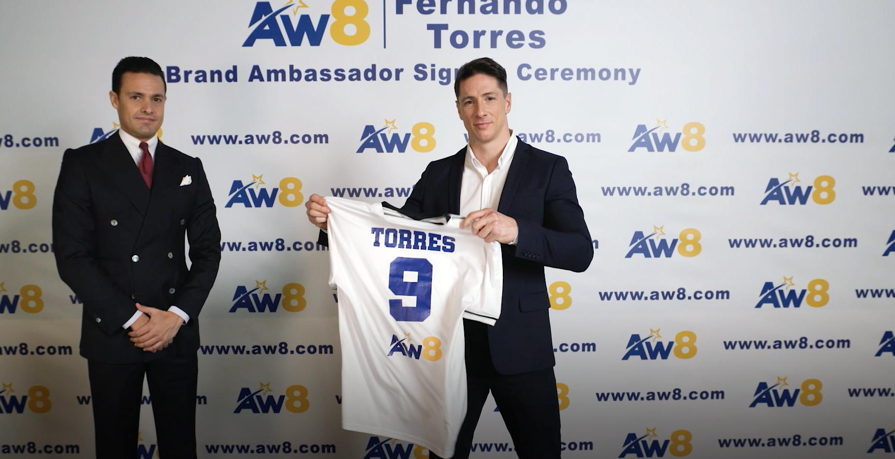Torres, nuevo embajador de AW8 en Asia