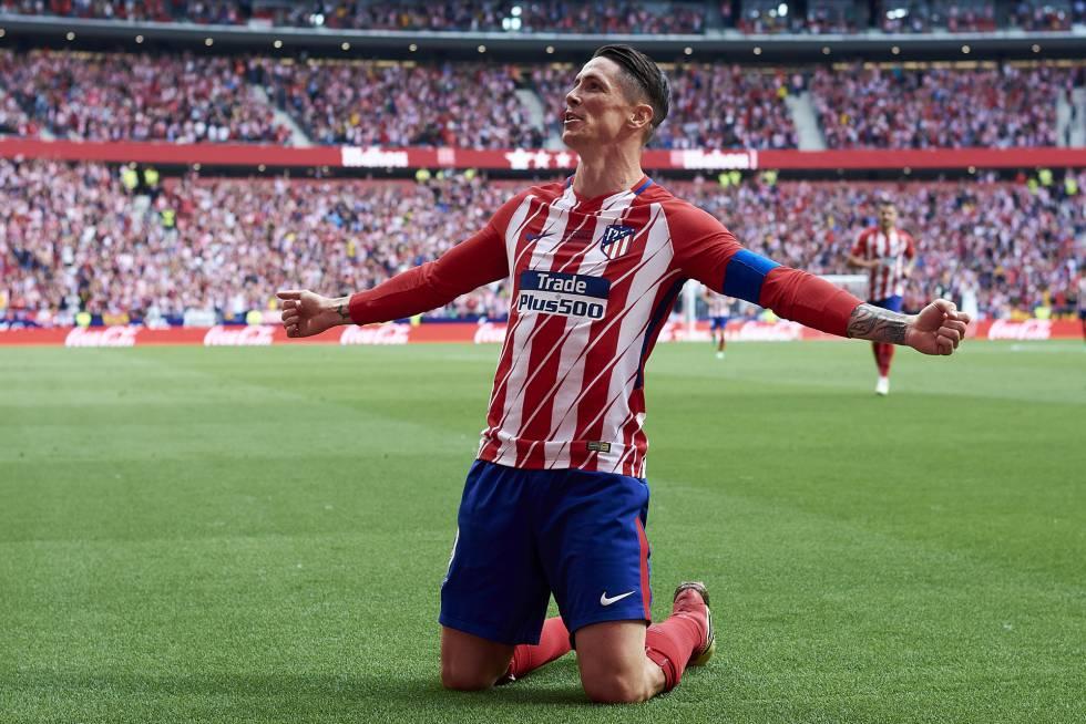 Torres, elegido en MARCA mejor atacante de la historia del Atlético