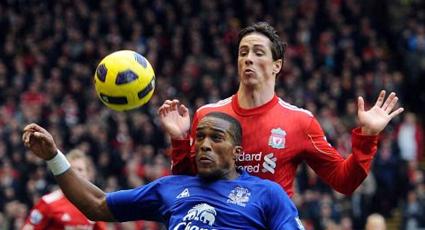 Fernando Torres, elegido por la afición como mejor jugador del derbi