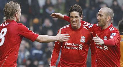Doblete de Torres para celebrar el primer triunfo en la 'era Dalglish' (0-3)