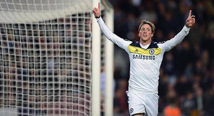 Fernando Torres, garantía de gol en segundas mangas de semifinal europea