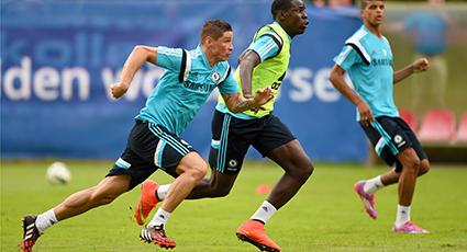 Primera sesión de trabajo para Torres en el 'stage' austriaco del Chelsea