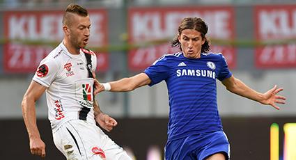 Un Chelsea sin mundialistas firma tablas frente al Wolfsberger austriaco (1-1)