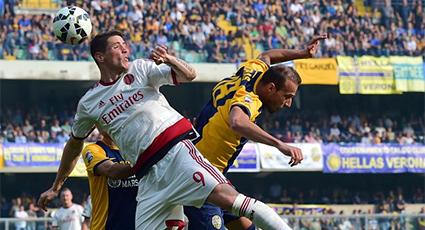 Cómoda victoria de los 'rossoneri' en Verona con buen juego y goles (1-3)