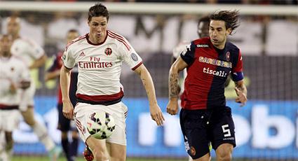 El AC Milan suma un punto tras firmar tablas en casa del Cagliari (1-1)
