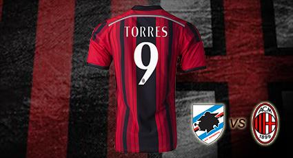 El A.C. Milan visita a la Sampdoria en un duelo directo por la zona noble