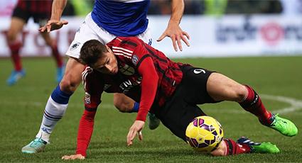 Un vibrante choque con la Sampdoria deriva en reparto de puntos (2-2)