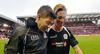 """""""En Gerrard encontré al jugador que siempre había buscado"""""""