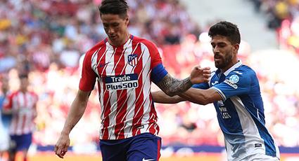 El Atlético tropieza con un Espanyol que rompe la imbatibilidad del Metropolitano (0-2)