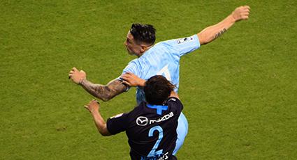 Frenazo en Tosu con la derrota por dos goles a manos del Sanfrecce (0-2)