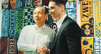 Torres regresa a Japón: como embajador del Sagan Tosu atiende eventos en Tokio y Saga