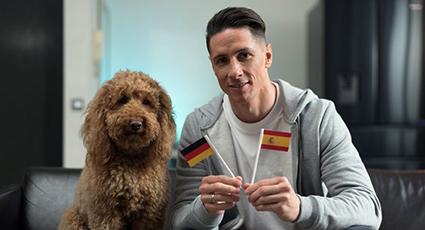 Torres y Hisense presentan una nueva campaña para los amantes del fútbol y los animales