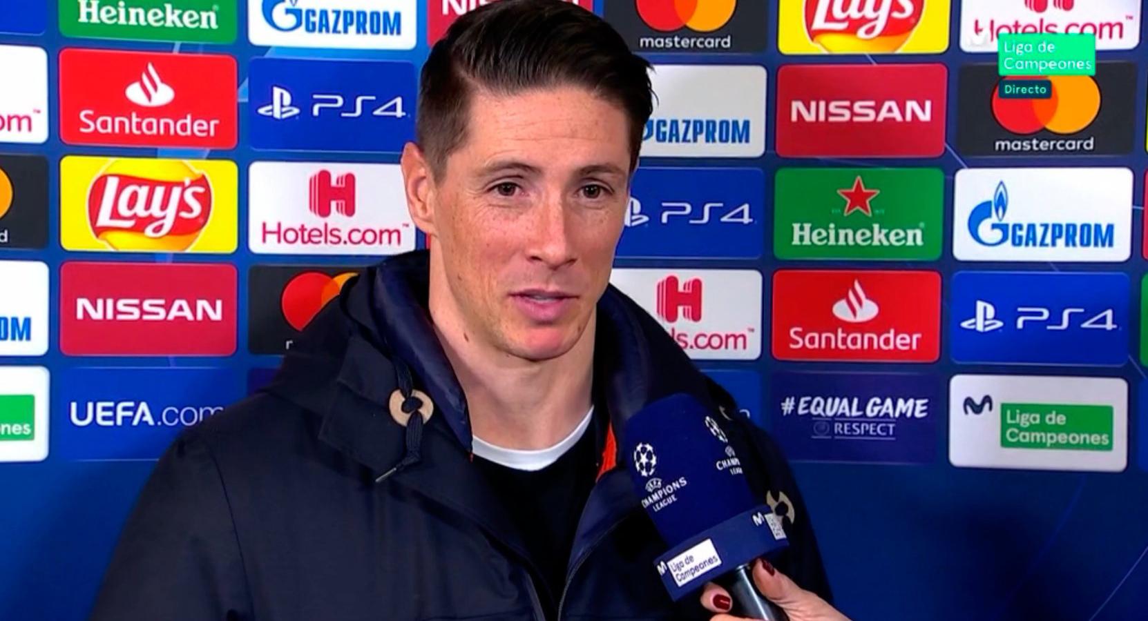 """Torres, en el Metropolitano: """"Hoy es un día especial"""""""