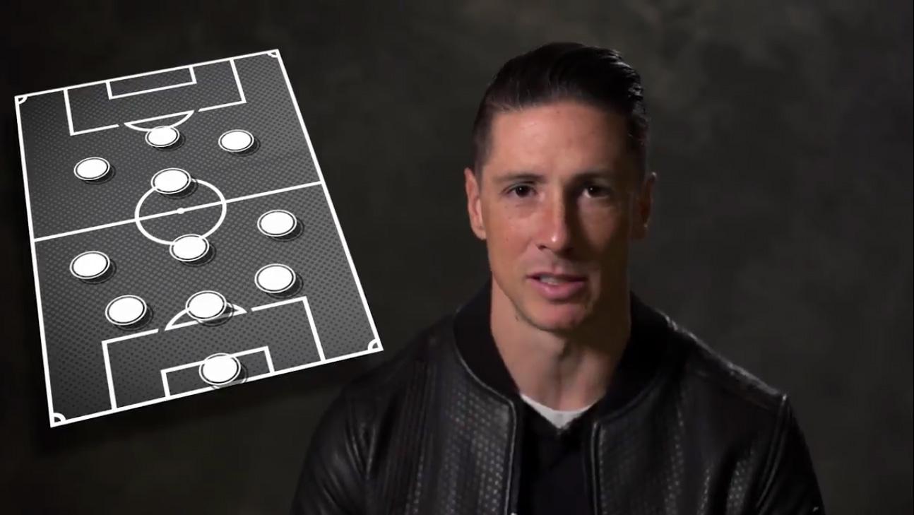 Torres configura el 'once ideal' de su carrera