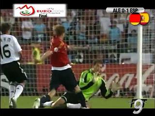 Gol de Torres (0-1), Alemania 0 – España 1 (Final Eurocopa '08). 29-06-08