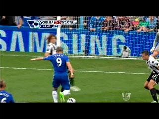 Gol de Torres (2-0) Chelsea F.C. 2 - Newcastle United 0 (25-08-12) Premier League