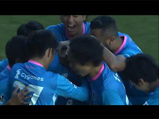 Gol de Torres (2-1). Sagan Tosu 2 - Yokohama Marinos 1 (24-11-18) J1-League